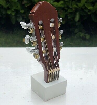 4D Art Musical Notes Musical Instruments Collection Guitar Sculpture Figure