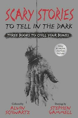 Scary Stories to Tell in the Dark Three Books to Chill  Alvin Schwartz Hardcover
