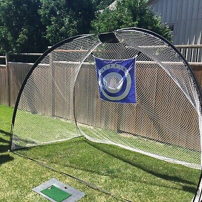 Golf Chipping Net Driving Mat Practice Set