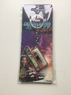 Guardians of The Galaxy Marvel Comics Awesome Vol. 2 Mixtape Keychain Metal