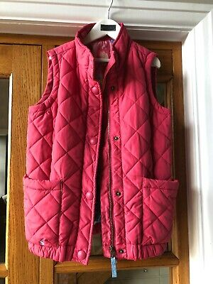 Joules Pink Quilted & Padded Gilet Age 9-10 Years Tom Joule Circus