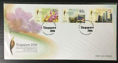 sgbay88 Singapore Stamps - 2006 IMF Intl Monetary Fund FDC