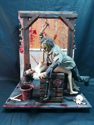 1/6 Diorama La Matanza De Texas The Texas Chainsaw Massacre Leatherface