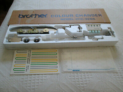 Brother Knitting Machine Parts Complete Boxed Khc820A Color Yarn Changer
