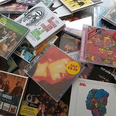 33 X Psych Garage 1960s Cd Job Lot Collection Nuggets Seeds Hendrix Stooges