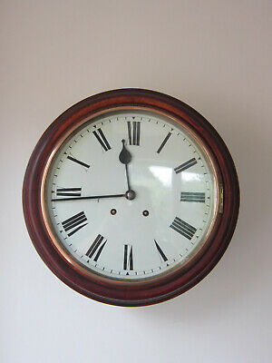 Superb  Chiming English Dial Clock- -Winteralder Hoffemier Circa 1900