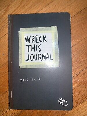 Wreck This Journal by Keri Smith (2007, Paperback) New(Other) See Photos