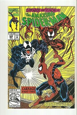 Amazing Spider-man 362 (May 1992) NM+ 9.6  2nd Carnage, Venom appearance