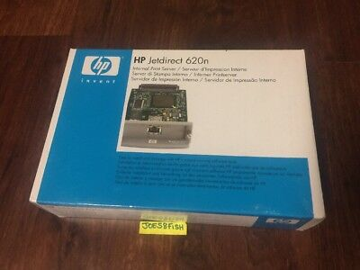 New HP 620N J7934A JetDirect EIO internal print server  SEALED! Fast Shipping.