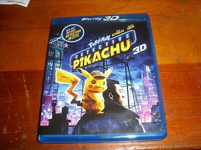 Pokemon Detective Pikachu 3D blu-ray only with case and insert