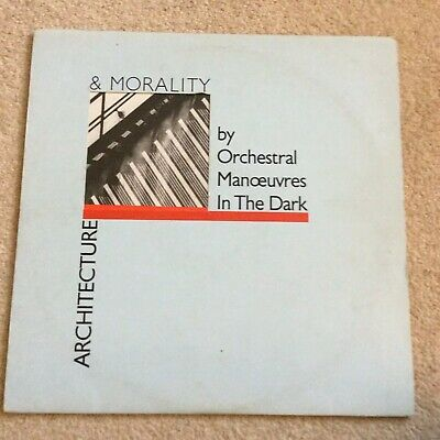 ORCHESTRAL MANOEUVRES IN THE DARK - ARCHITECTURE & MORALITY 1981 Vinyl
