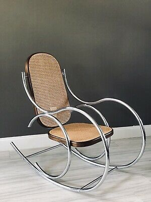 Remarkable Goose Neck Rocking Chair New Leopard 1 000 00 Picclick Ibusinesslaw Wood Chair Design Ideas Ibusinesslaworg