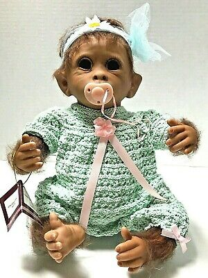 Clementine Needs A Cuddle 14/'/' So Truly Real Monkey Doll  by Ashton Drake NRFB