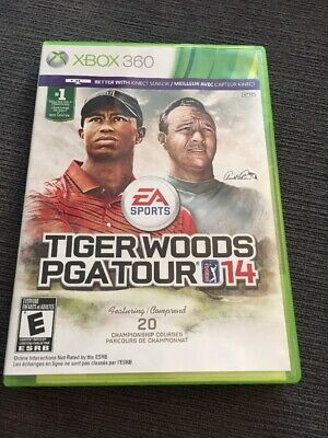 Tiger Woods PGA Tour 14 (Microsoft Xbox 360, 2013) - Complete In Box!
