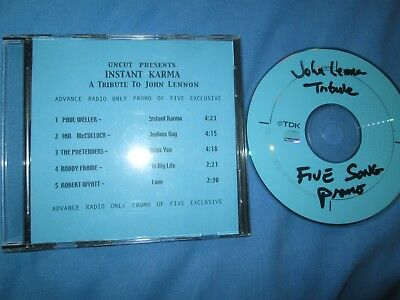 Instant Karma  (A Tribute To John Lennon) Uncut UK Promo CD Sampler