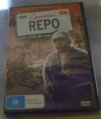 Operation Repo - Smoke-Stacked And Jacked DVD New Sealed Free Postage