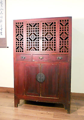 Antique Chinese Ming Scholar-Scroll Cabinet (5306), Circa 1800-1849