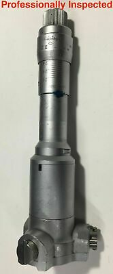 """.0002/"""" Mitutoyo 368-211 Holtest Internal Micrometer w//Carbide Pins 1.8-2.0/"""""""