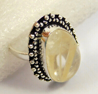 Strawberry .925 Silver Plated Handmade Ring Size-7.75 Jewelry JC4008