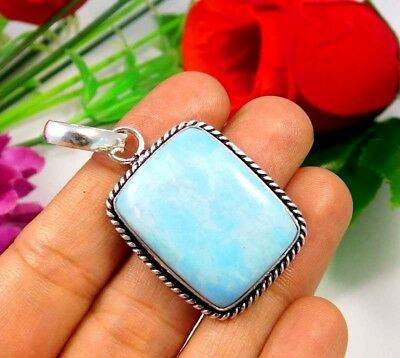 Larimar .925 Silver Beautiful Pendants Designer Jewelry JC3674-JC3696