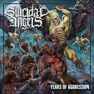 Years Of Aggression Suicidal Angels Audio CD Discs 1 The Sacred Dance with Chaos