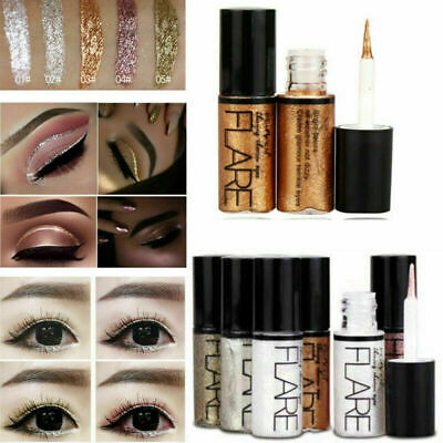 Eyeshadow Liquid Waterproof Metallic Glitter Eyeliner Shimmer Eye Liner Makeup