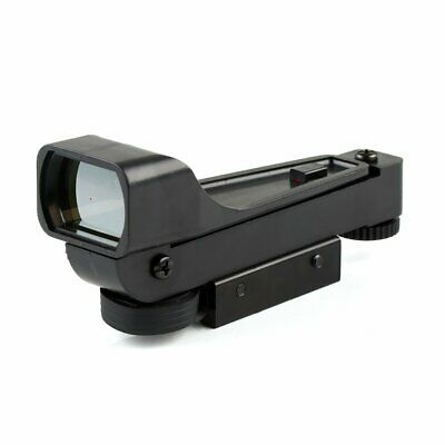 Viseur Réflexe Tactique Point Rouge Vue Scope 11mm Weaver Rail Mount FR