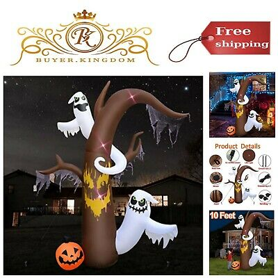 Inflatable Decoration 10 Ft Light Up Outdoor Indoor Home Decor Halloween Party