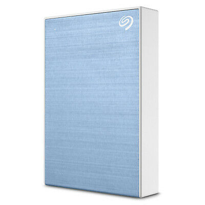"Seagate 5TB Backup External Plus 2.5"" Portable Hard Drive HDD- Blue (2019 Model)"