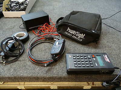 PowerSight PS 3000 Power Analyzer w/ eFX6000 & 1 Clamp & Line-to-DC Converter