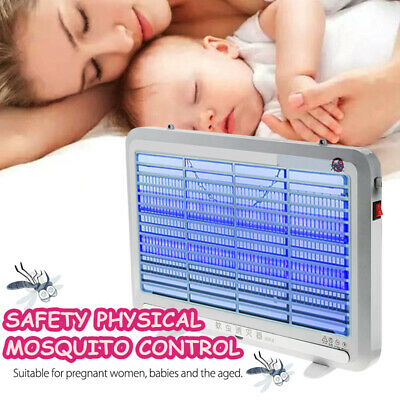 4W Electric UV Insect Mosquito Pest Killer Fly Bug Zapper Catcher Trap LED Lamp