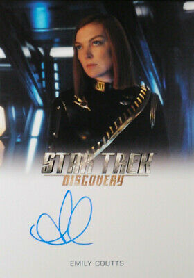 "Star Trek Discovery Autograph Card Emily Coutts as ""Mirror Keyla Detmer"""