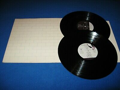 Pink Floyd - The Wall Double Lp   ( Original 1St U.s. Pressing, Gate Fold Cover)