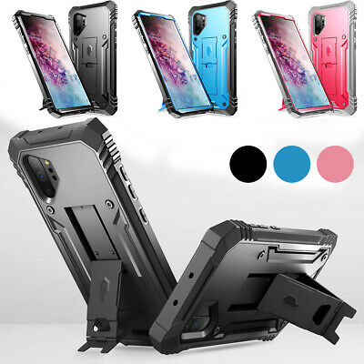 Samsung Galaxy Note 10 Plus Case | Poetic Shockproof Cover Built-In Kick-stand