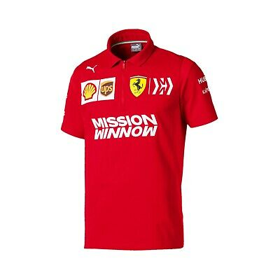 Ferrari 2019 Team Polo Shirt - NEW and OFFICIAL