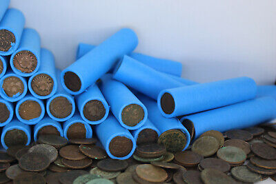 Indian Head Penny Roll Old Wheat Cents Vintage Coin Collection Lincoln Cent Sale
