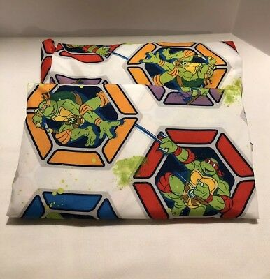 Nickelodeon Teenage Mutant Ninja Turtles Toddler Bed Sheet Set No Pillowcase