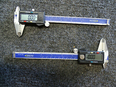 """Lot of 2 used Genuine Blue Point Dial Caliper MCAL6A 0-6"""""""