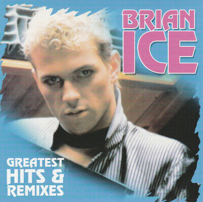 Brian Ice ‎– Greatest Hits & Remixes ! 2-CD Compilation ! Italo Disco 80's