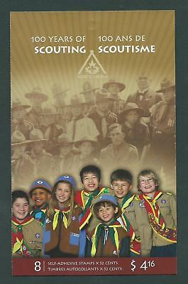 Canada BK357 (# 2225) - MNH & FDC - 100 Years of Scouting
