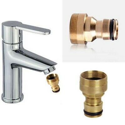5x Universal Kitchen Tap Hose Adaptor Thread Connector Mixer Pipe Joiner Fitting