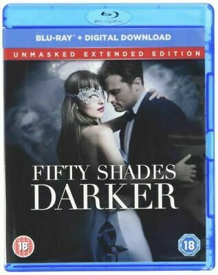 Fifty Shades Darker (Jamie Dornan) Unmasked Extended Edition Blu Ray New Sealed
