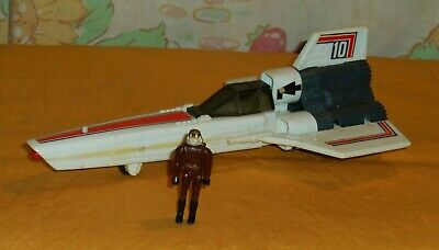 vintage Battlestar Galactica (missile-firing) COLONIAL VIPER WITH PILOT