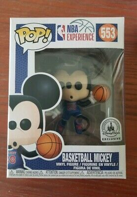 NEW Disney NBA Experience Mickey Mouse Basketball Pop Vinyl Figure Funko