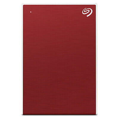"Seagate 2TB Backup External Plus 2.5"" Portable Hard Drive HDD - Red"