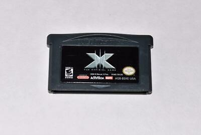 X-Men: The Official Game Nintendo Gameboy Advance Sp Gba