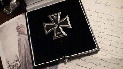 WW1 WWI Imperial German Prussia Officer General Grand Knights Iron Cross 1 Class
