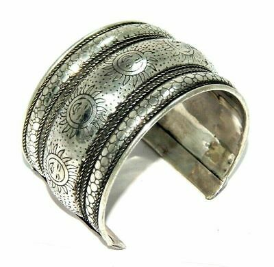 Great Designer Tibetan German Silver Handmade Cuff Fashion Jewelry C143