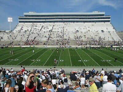 2 Penn State vs Idaho low row 40 yard line tickets w/seatbacks