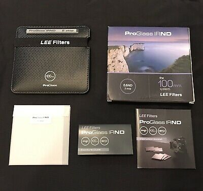 ProGlass IRND 0.6 ND Filter (2 Stop) The 100mm System Lee Filters PG2
